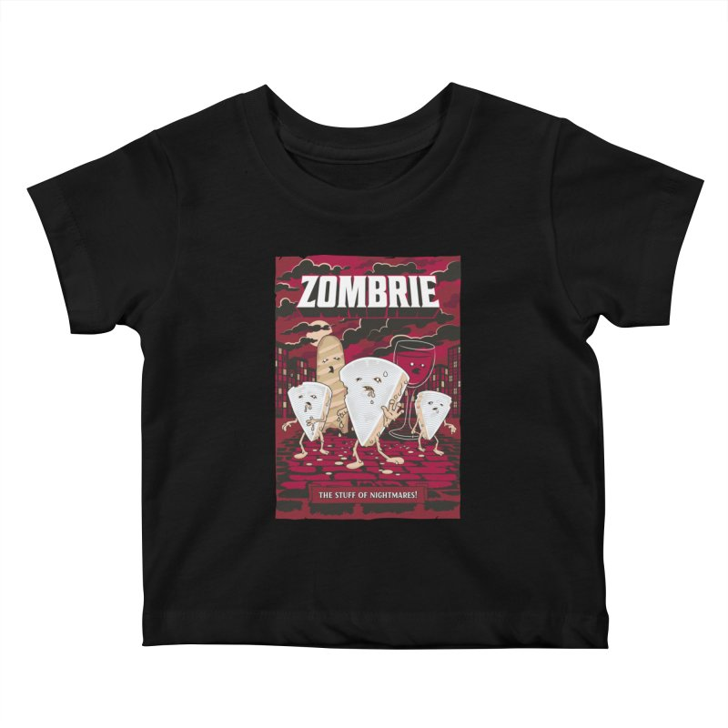 Zombrie Kids Baby T-Shirt by heavyhand's Artist Shop