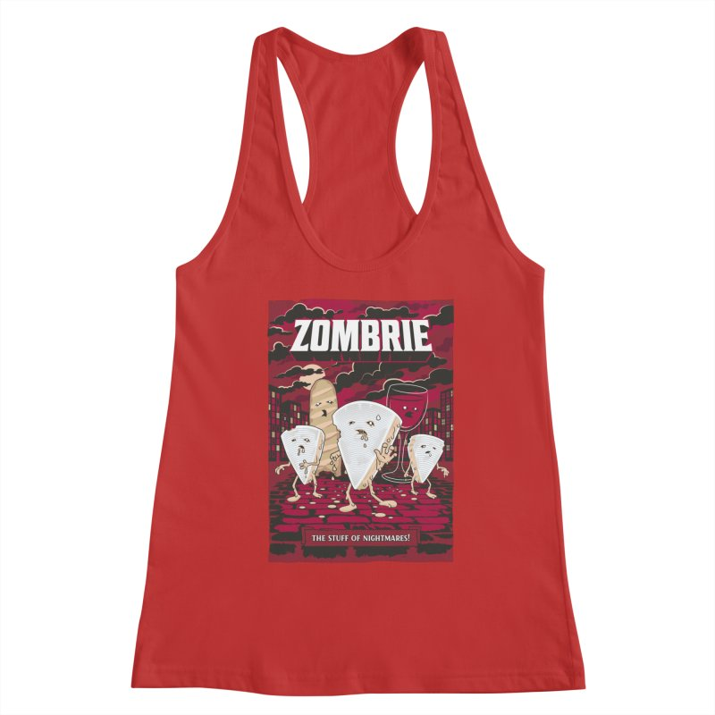Zombrie Women's Tank by heavyhand's Artist Shop