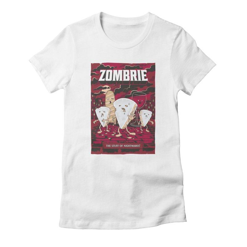 Zombrie Women's T-Shirt by heavyhand's Artist Shop