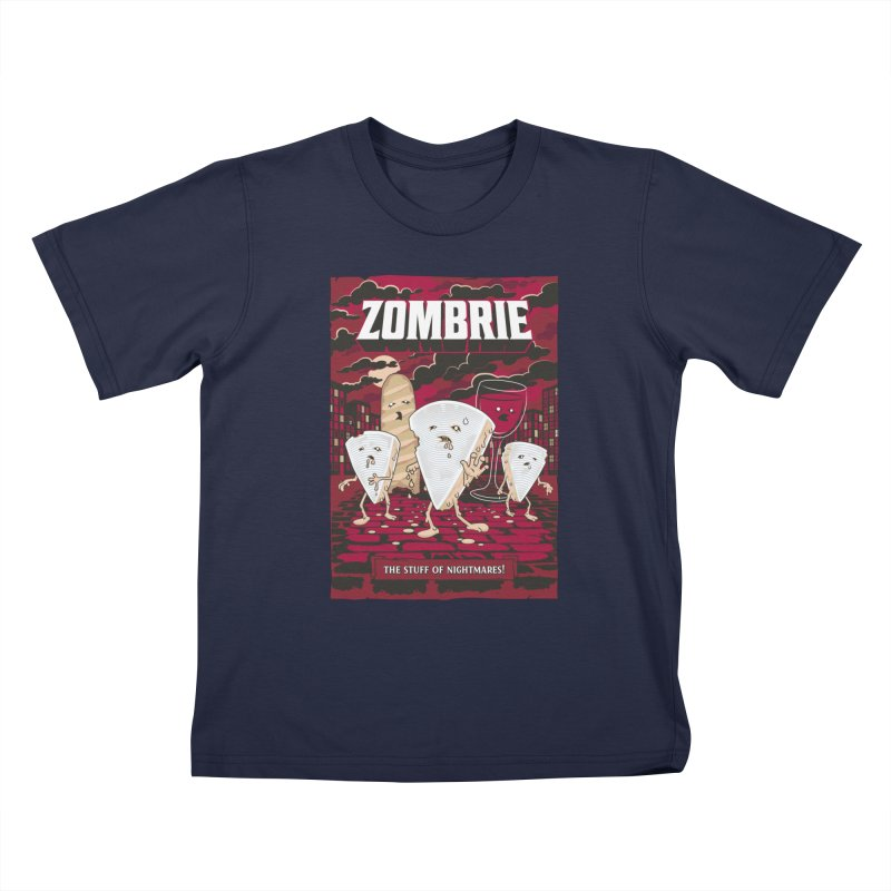 Zombrie Kids T-Shirt by heavyhand's Artist Shop