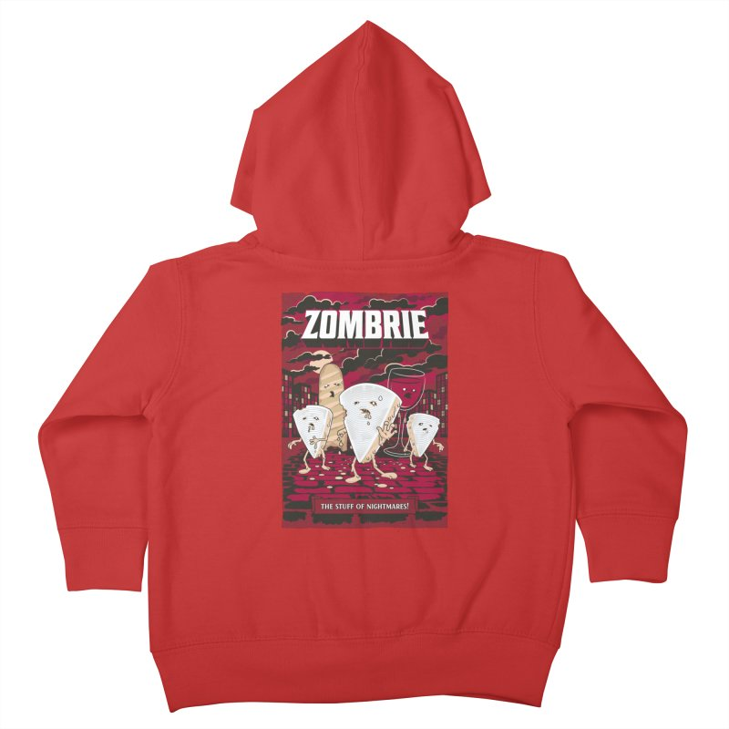 Zombrie Kids Toddler Zip-Up Hoody by heavyhand's Artist Shop