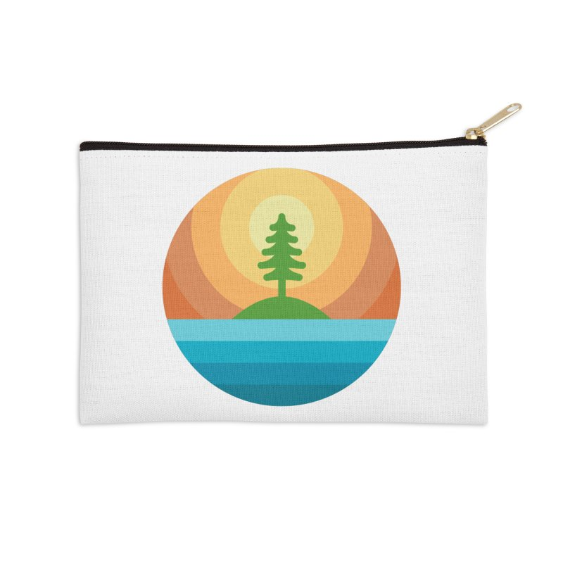 The last tree Accessories Zip Pouch by heavyhand's Artist Shop