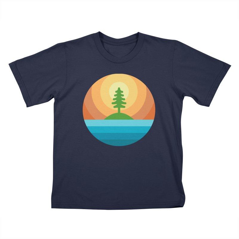 The last tree Kids T-Shirt by heavyhand's Artist Shop