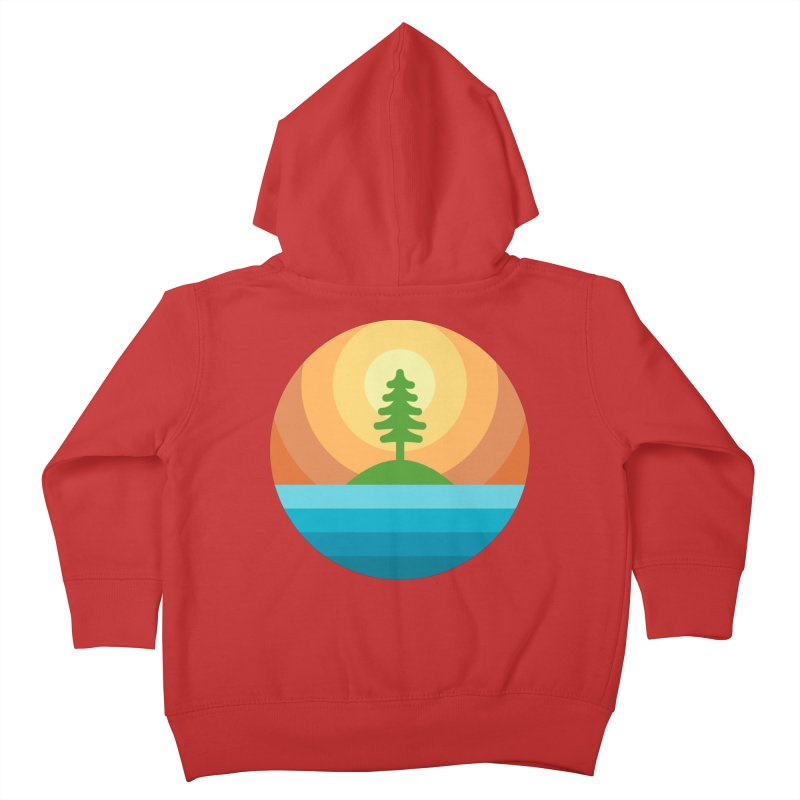 The last tree Kids Toddler Zip-Up Hoody by heavyhand's Artist Shop