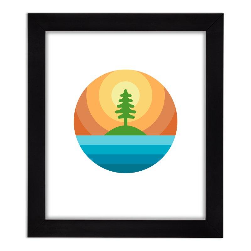 The last tree Home Framed Fine Art Print by heavyhand's Artist Shop