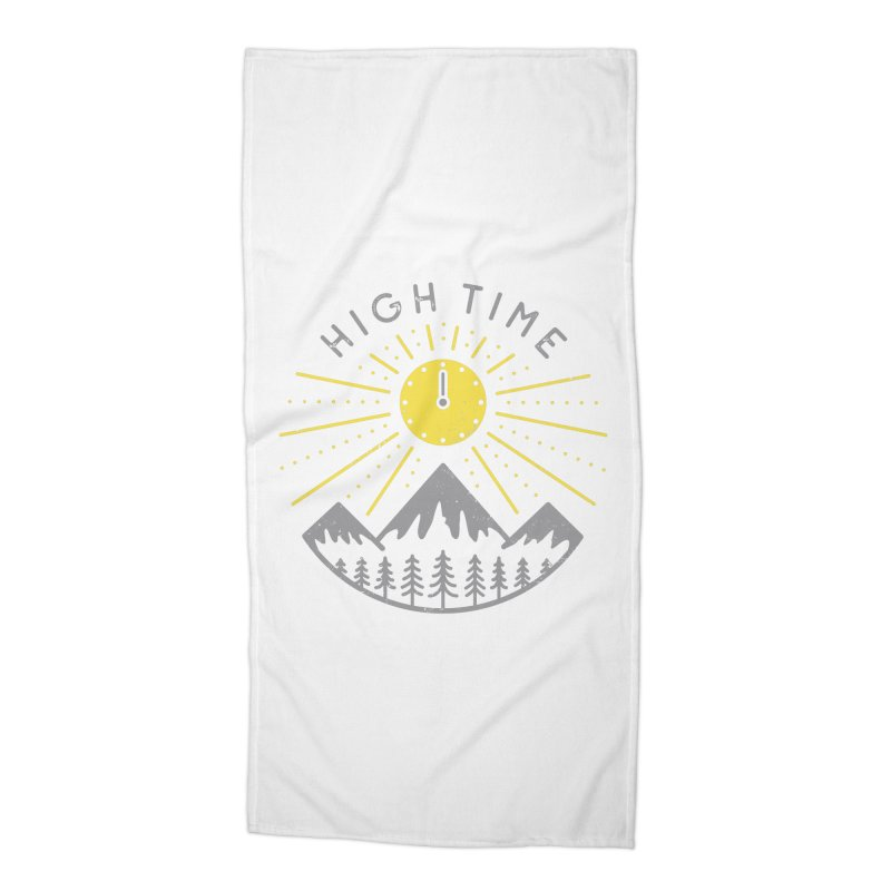 High Time Accessories Beach Towel by heavyhand's Artist Shop