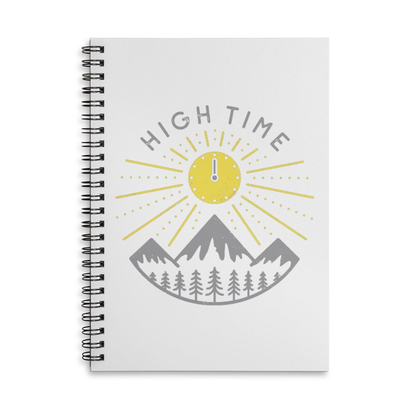 High Time Accessories Notebook by heavyhand's Artist Shop
