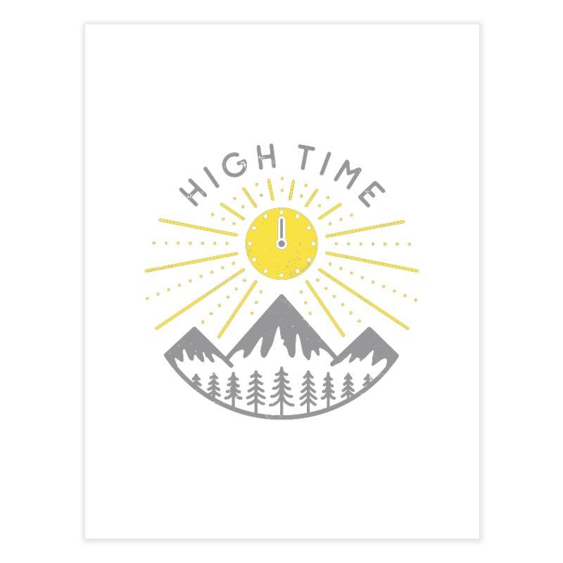 High Time Home Fine Art Print by heavyhand's Artist Shop