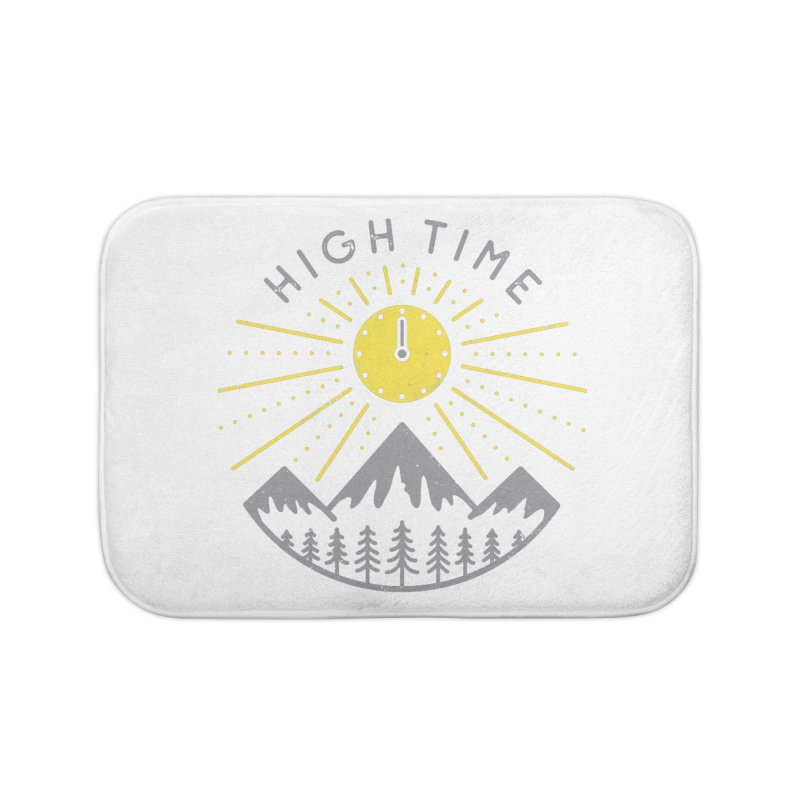 High Time Home Bath Mat by heavyhand's Artist Shop