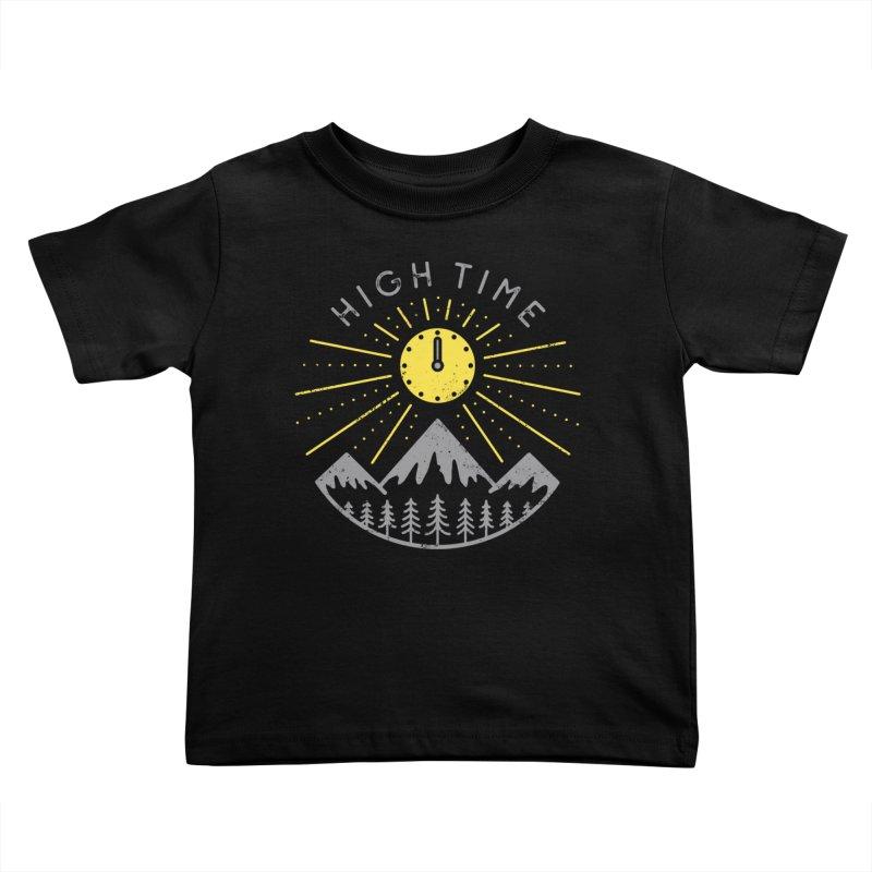 High Time Kids Toddler T-Shirt by heavyhand's Artist Shop