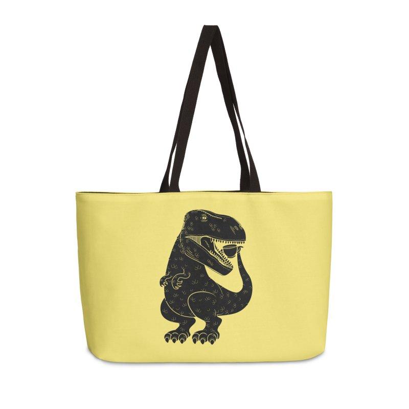 Tea-Rex Accessories Bag by heavyhand's Artist Shop