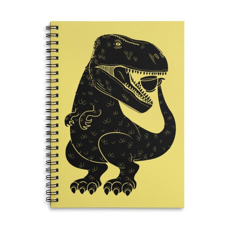 Tea-Rex Accessories Notebook by heavyhand's Artist Shop
