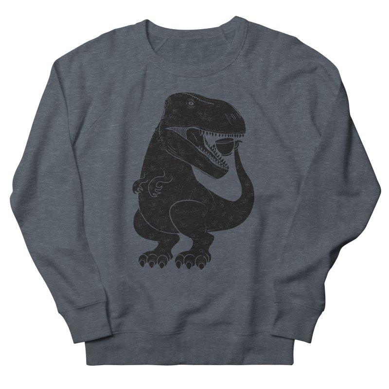 Tea-Rex Men's Sweatshirt by heavyhand's Artist Shop