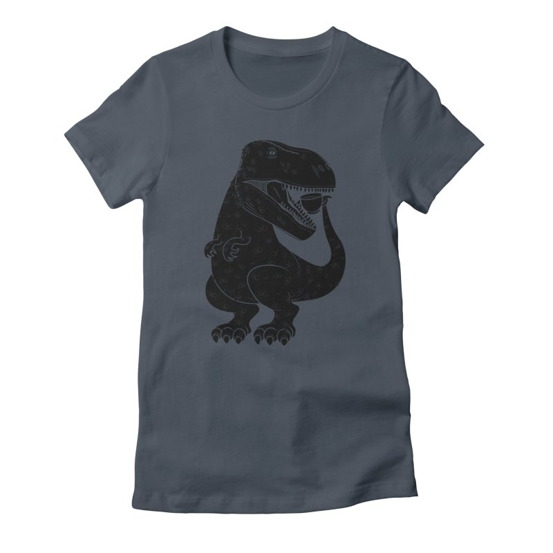 Tea-Rex Women's T-Shirt by heavyhand's Artist Shop