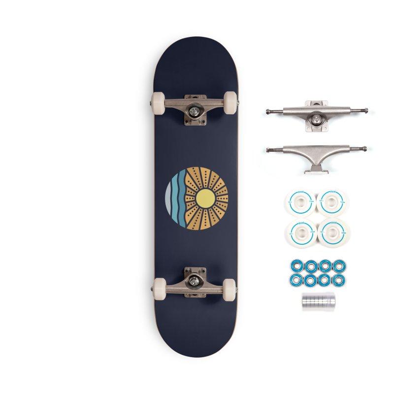 On the Beach Accessories Skateboard by heavyhand's Artist Shop