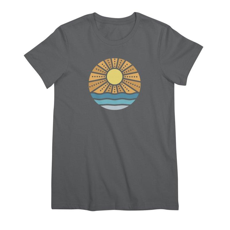 On the Beach Women's T-Shirt by heavyhand's Artist Shop