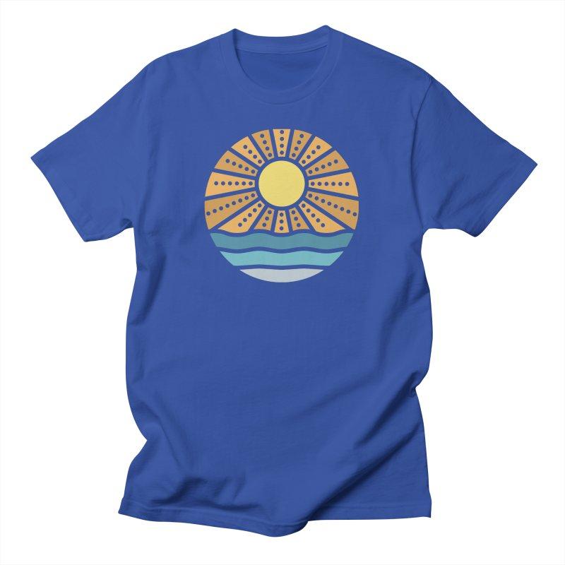 On the Beach Men's T-Shirt by heavyhand's Artist Shop