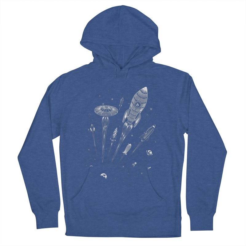 Space Race Men's Pullover Hoody by heavyhand's Artist Shop