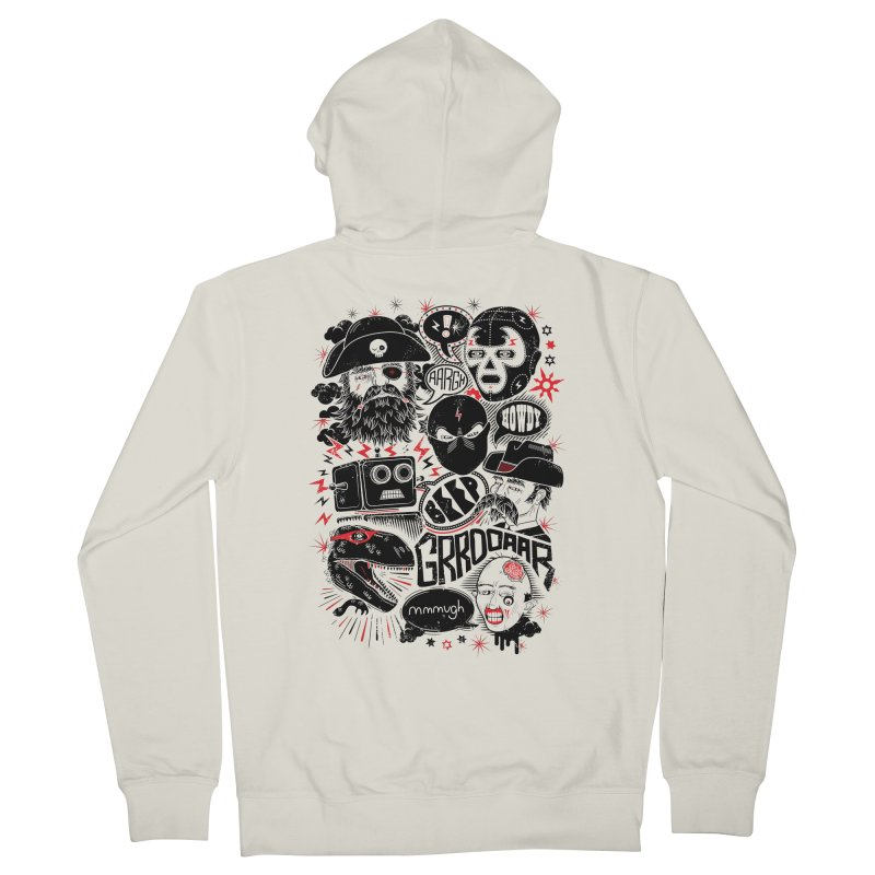 Team Fantastic Women's French Terry Zip-Up Hoody by heavyhand's Artist Shop