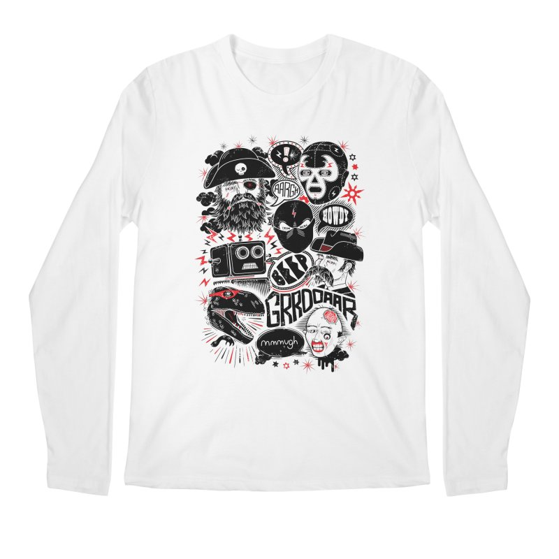 Team Fantastic Men's Longsleeve T-Shirt by heavyhand's Artist Shop