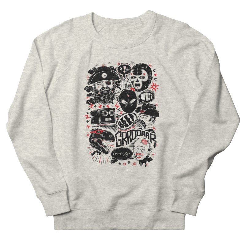 Team Fantastic Women's French Terry Sweatshirt by heavyhand's Artist Shop