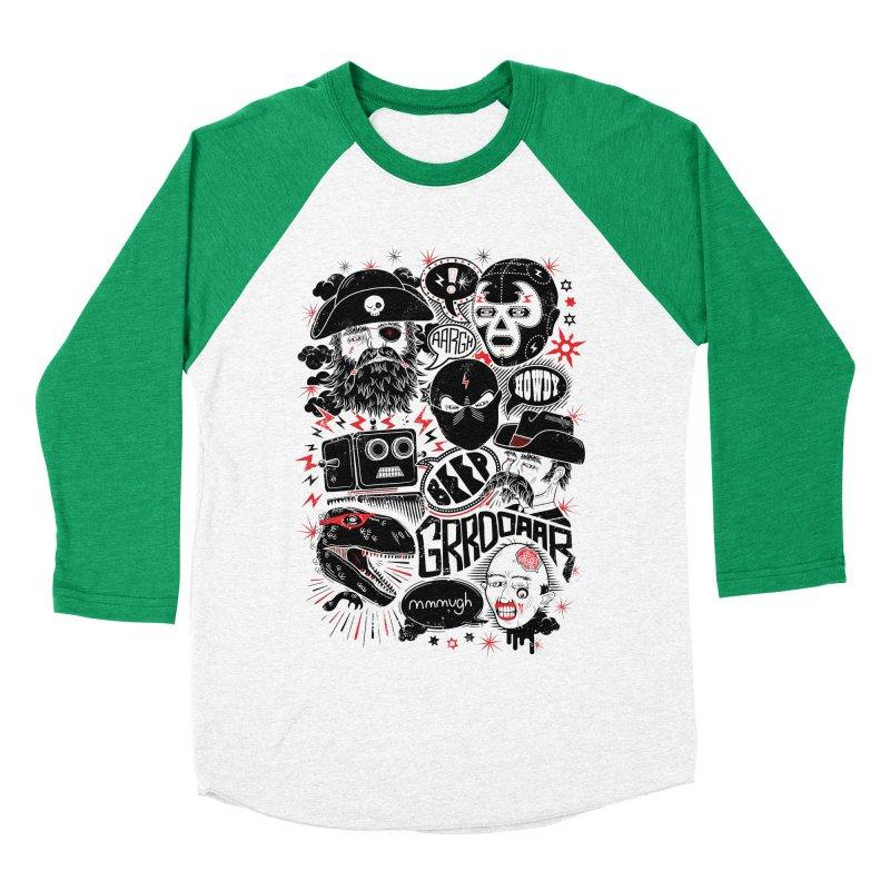 Team Fantastic Women's Baseball Triblend Longsleeve T-Shirt by heavyhand's Artist Shop