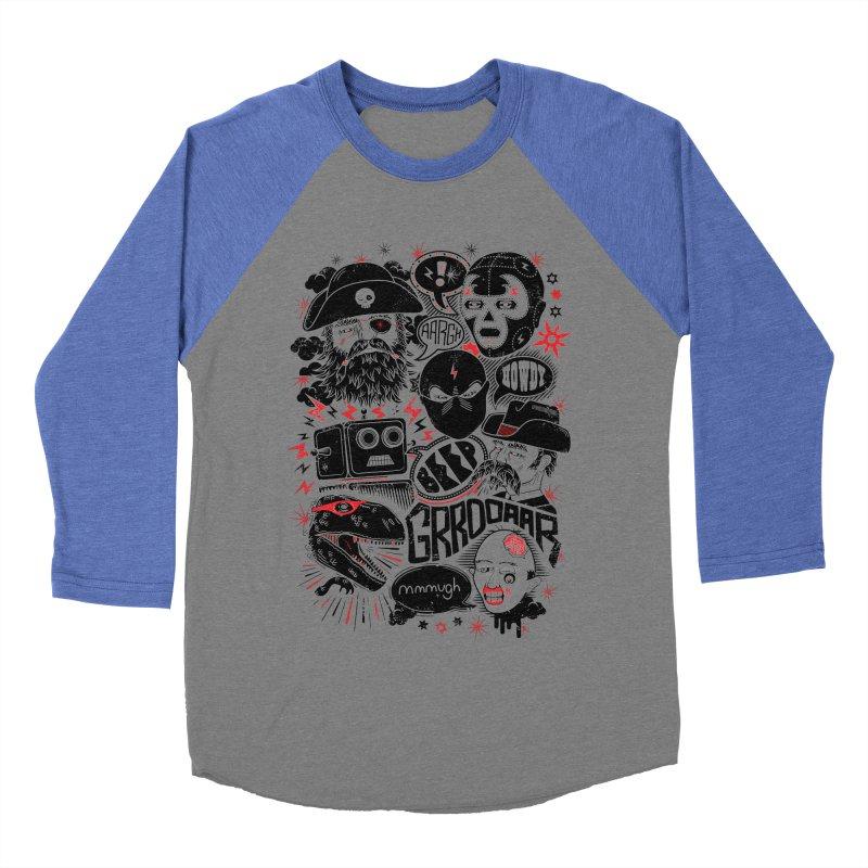 Team Fantastic Women's Baseball Triblend T-Shirt by heavyhand's Artist Shop