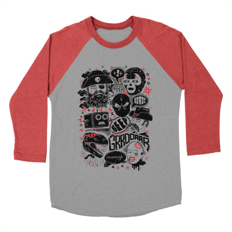 Team Fantastic Men's Longsleeve T-Shirt by heavyhand's Artist Shop