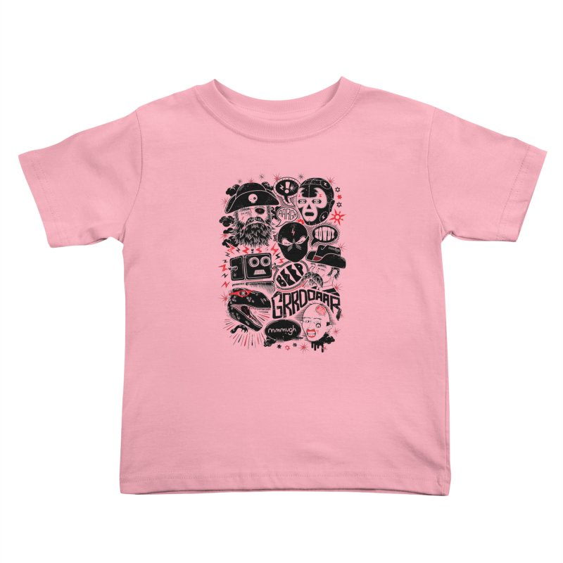 Team Fantastic Kids Toddler T-Shirt by heavyhand's Artist Shop