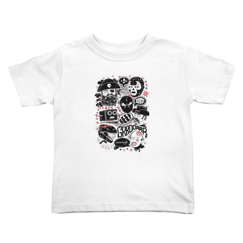 Team Fantastic Kids Toddler T-Shirt by heavyhand's Artist Shop