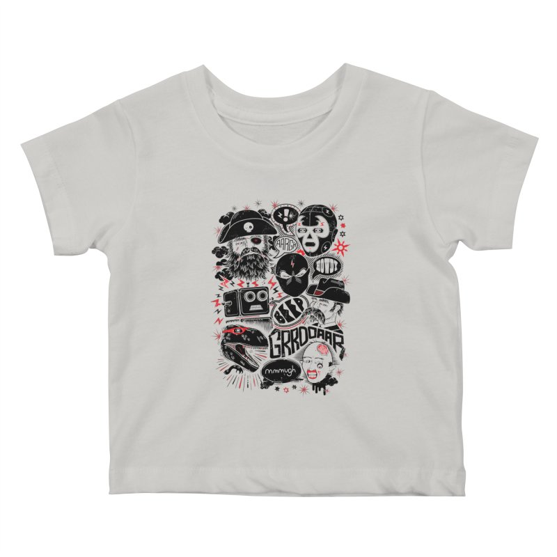 Team Fantastic Kids Baby T-Shirt by heavyhand's Artist Shop