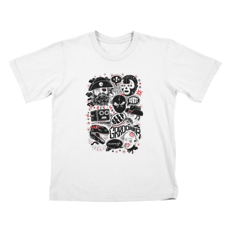 Team Fantastic Kids T-Shirt by heavyhand's Artist Shop