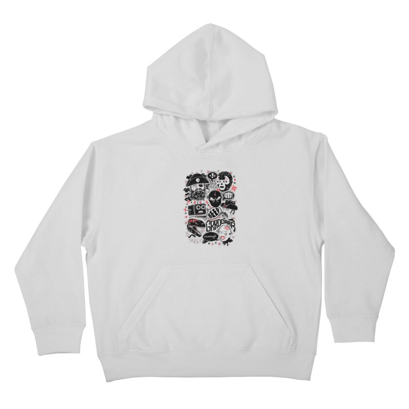 Team Fantastic Kids Pullover Hoody by heavyhand's Artist Shop