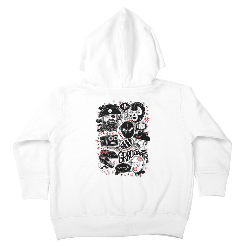 Team Fantastic Kids Toddler Zip-Up Hoody by heavyhand's Artist Shop