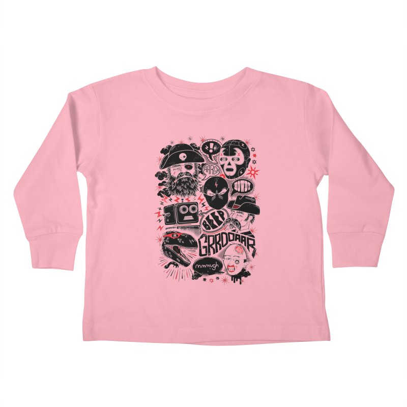 Team Fantastic Kids Toddler Longsleeve T-Shirt by heavyhand's Artist Shop