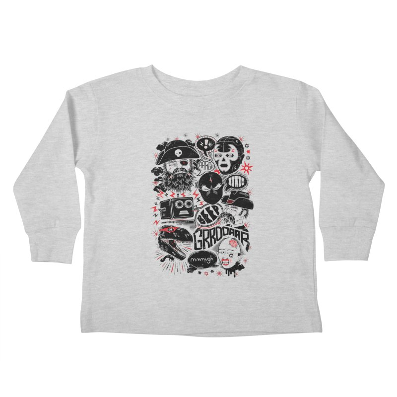 Team Fantastic Kids Toddler Longsleeve T-Shirt by heavyhand's Artist Shop