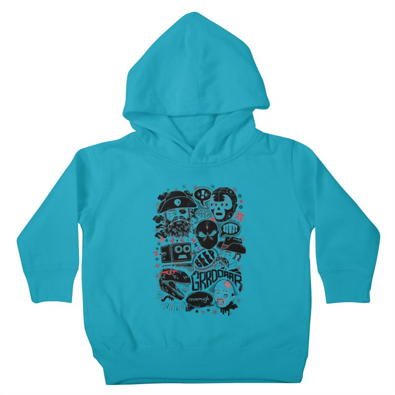 Team Fantastic Kids Toddler Pullover Hoody by heavyhand's Artist Shop