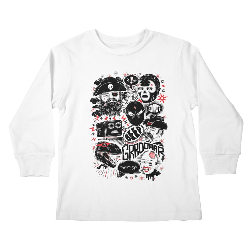 Team Fantastic Kids Longsleeve T-Shirt by heavyhand's Artist Shop