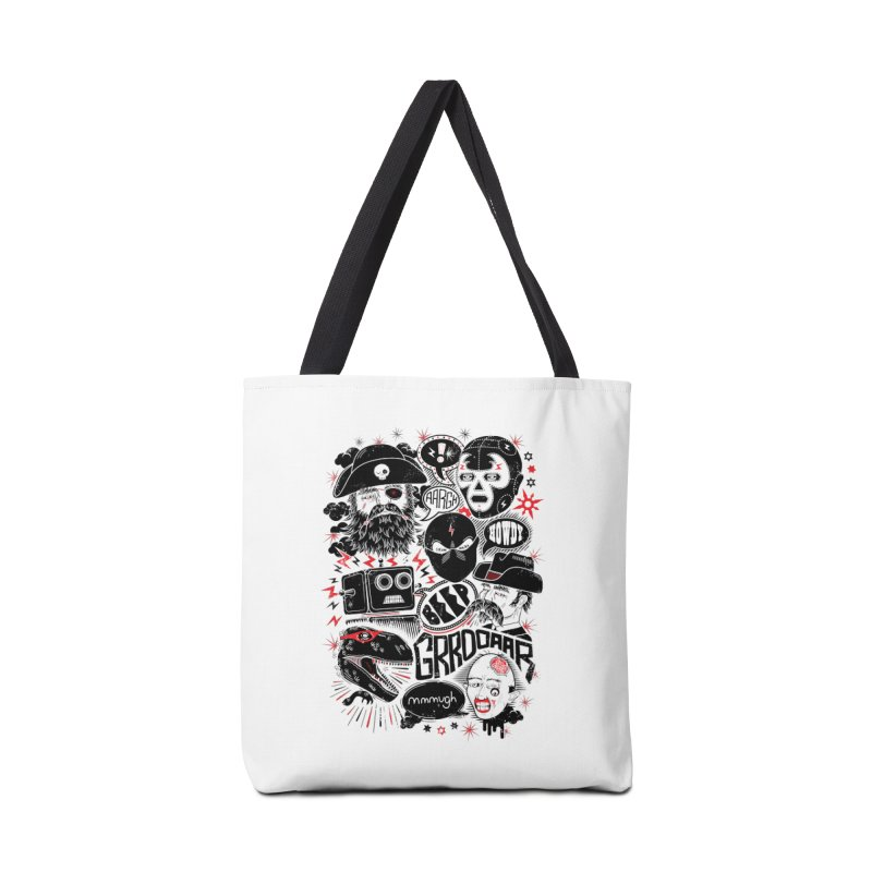 Team Fantastic Accessories Tote Bag Bag by heavyhand's Artist Shop