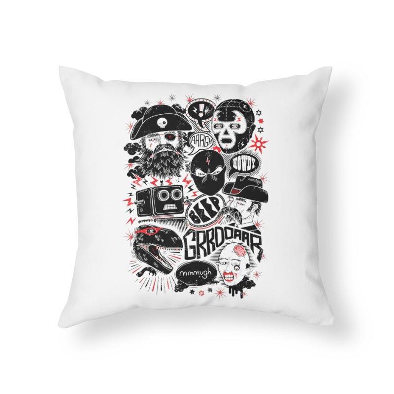Team Fantastic Home Throw Pillow by heavyhand's Artist Shop