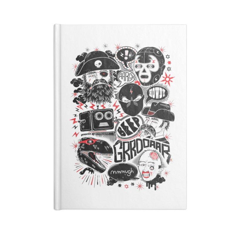 Team Fantastic Accessories Notebook by heavyhand's Artist Shop