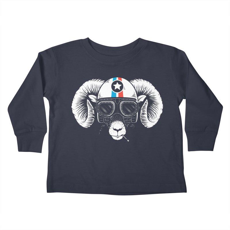 Prep Ramming Speed Kids Toddler Longsleeve T-Shirt by heavyhand's Artist Shop
