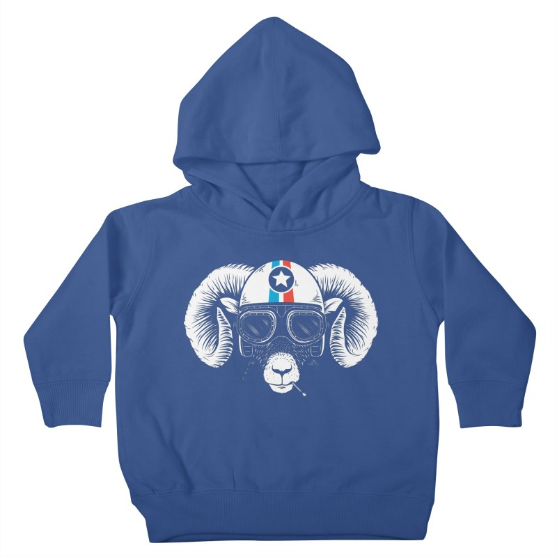 Prep Ramming Speed Kids Toddler Pullover Hoody by heavyhand's Artist Shop