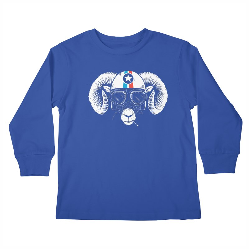 Prep Ramming Speed Kids Longsleeve T-Shirt by heavyhand's Artist Shop