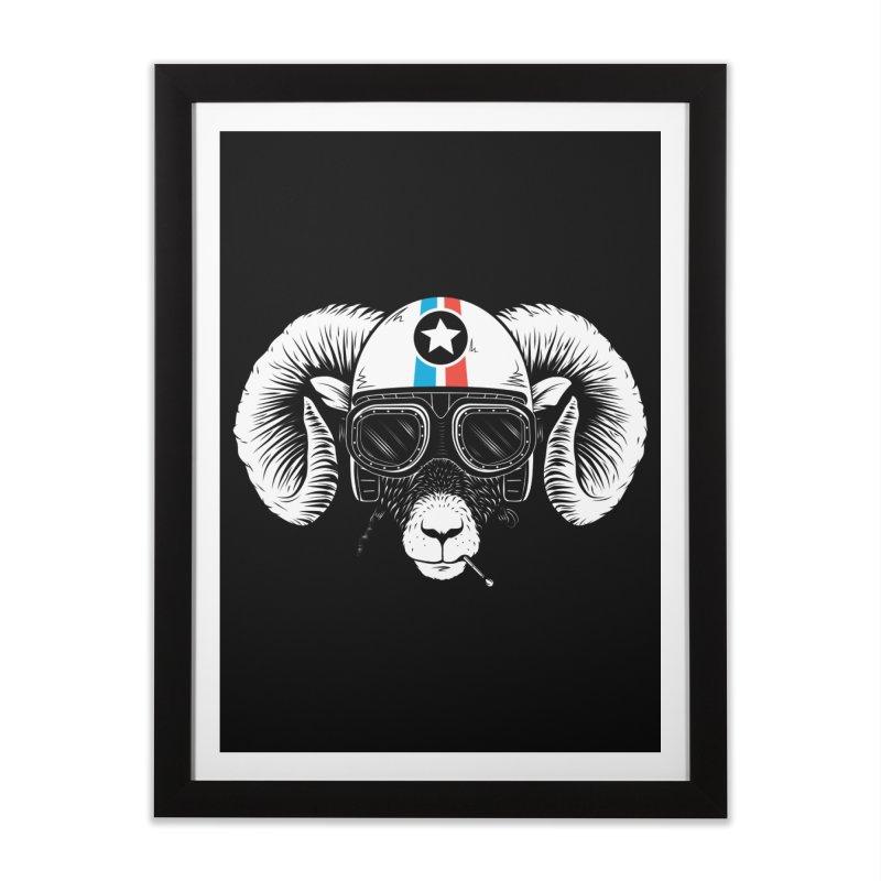 Prep Ramming Speed Home Framed Fine Art Print by heavyhand's Artist Shop