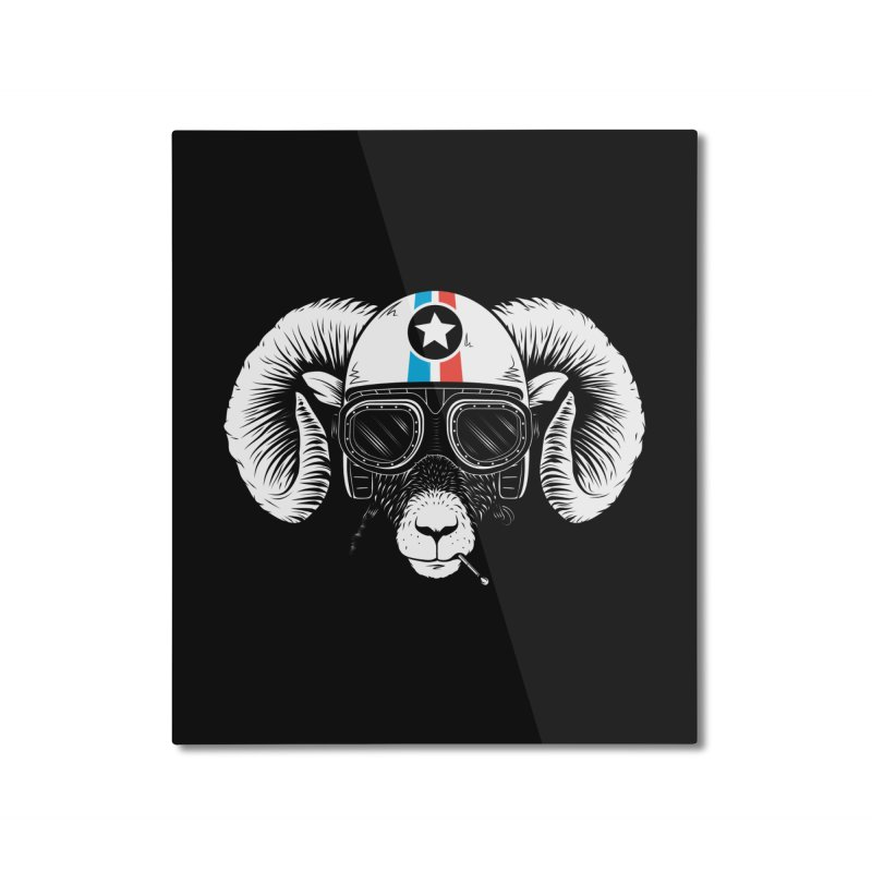 Prep Ramming Speed Home Mounted Aluminum Print by heavyhand's Artist Shop