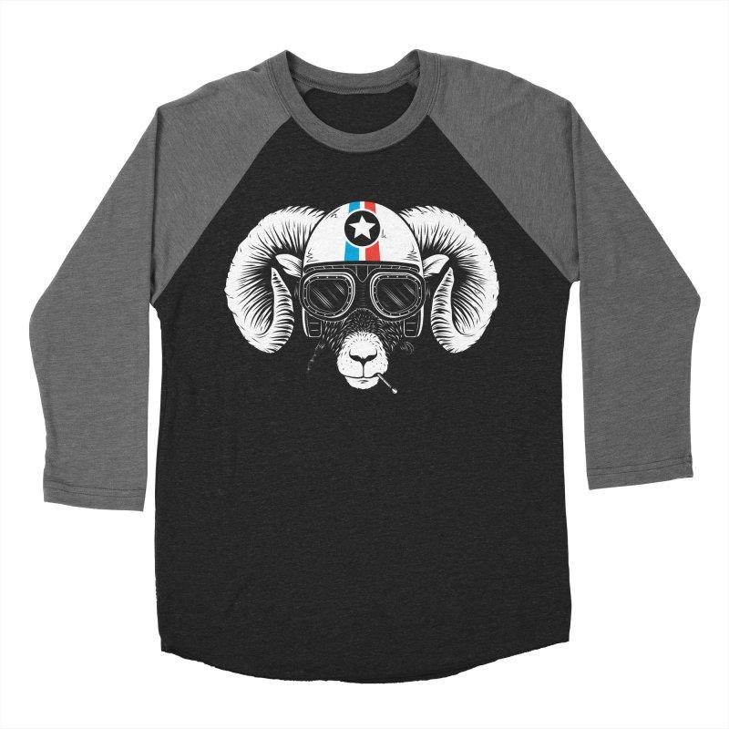 Prep Ramming Speed Men's Baseball Triblend Longsleeve T-Shirt by heavyhand's Artist Shop