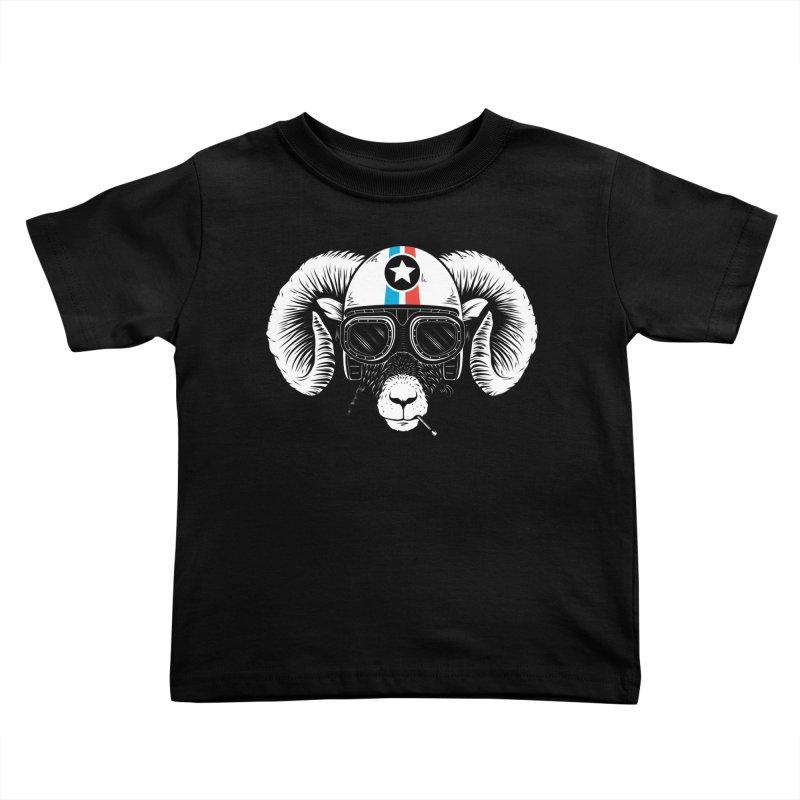 Prep Ramming Speed Kids Toddler T-Shirt by heavyhand's Artist Shop