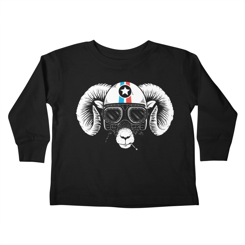 Prep Ramming Speed Kids Toddler Longsleeve T-Shirt by heavyhand's Artist Shop
