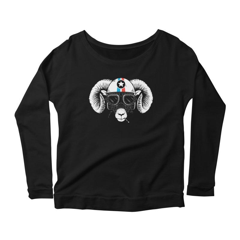Prep Ramming Speed Women's Scoop Neck Longsleeve T-Shirt by heavyhand's Artist Shop